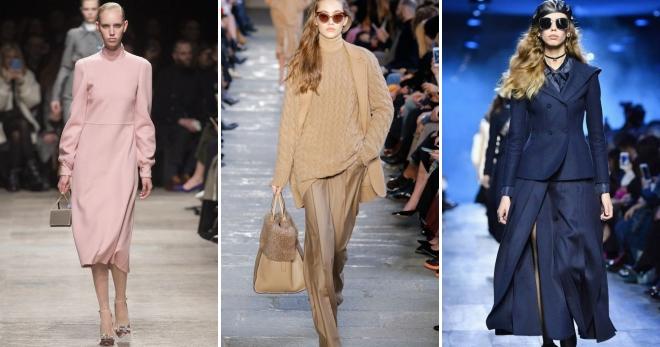 Модные тенденции осень-зима 2017-2018 – что будет модно в новом сезоне?