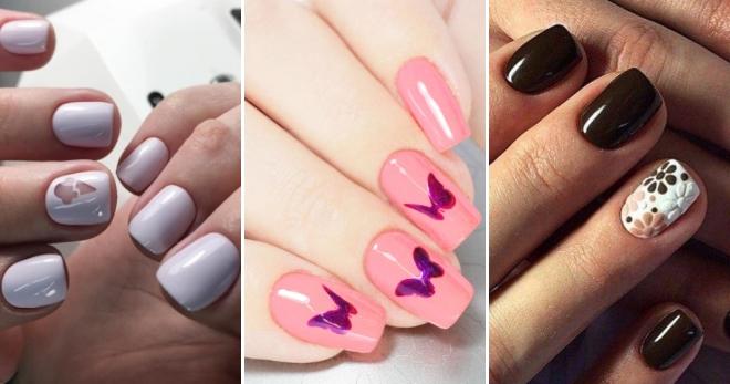 Дип дизайн на ногтях