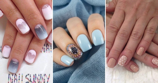 Нежный дизайн ногтей – подборка фото стильного маникюра в нежных тонах