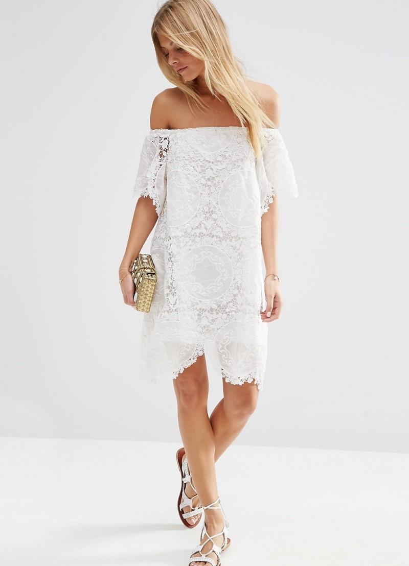 Белое платье на выпускной изоражения