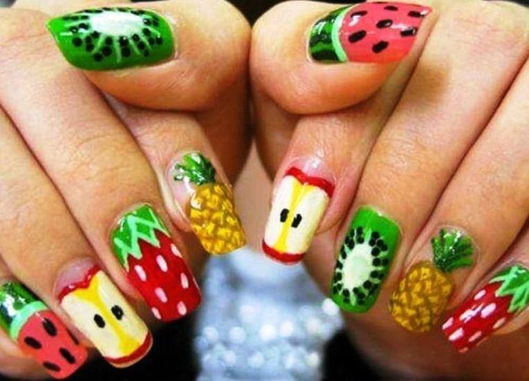 Рисунки на ногтях для подростков