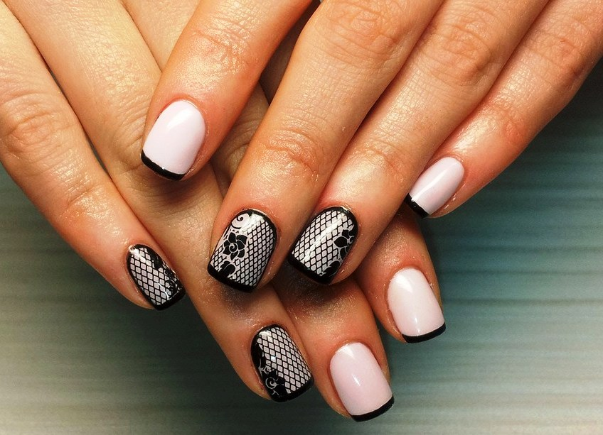 Ногти дизайн 2017-2018 новинки френч на короткие ногти