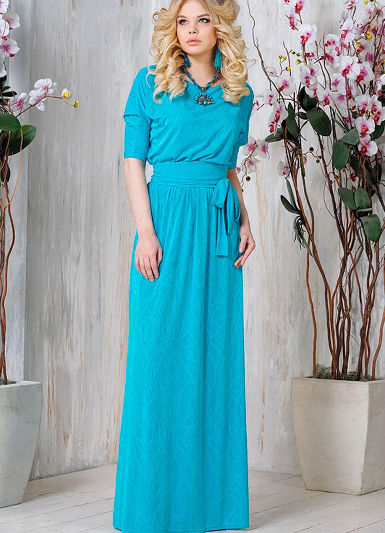 Купить Повседневное Длинное Платье