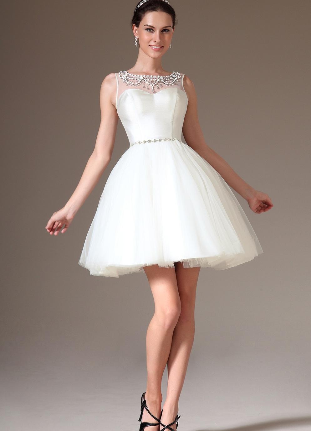 Короткие платья с пышной юбкой на выпускной Платья на Выпускной Короткие Пышные