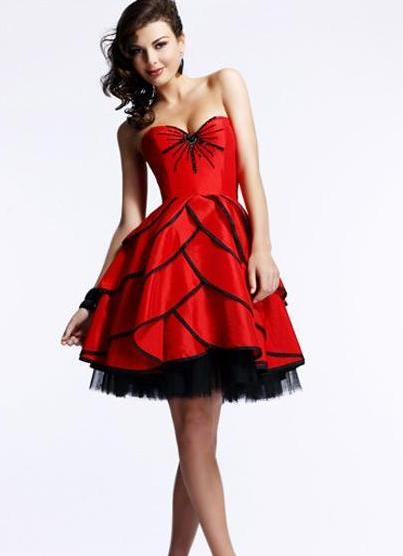 Платье на выпускной короткое фото