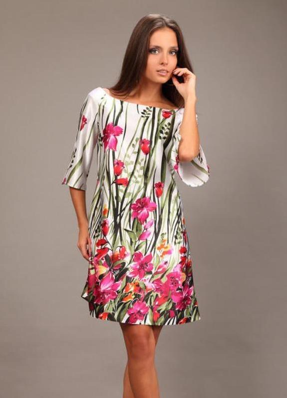 Туники платья шелковые