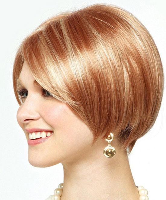 Короткая стрижка окрашивание волос