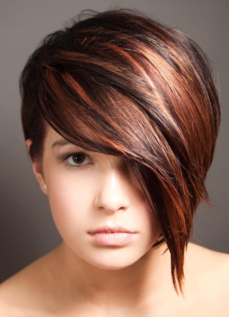 окрашивание волос 2016 фото на короткие волосы