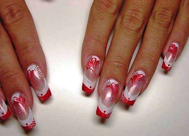 Дизайн нарощеные ногти