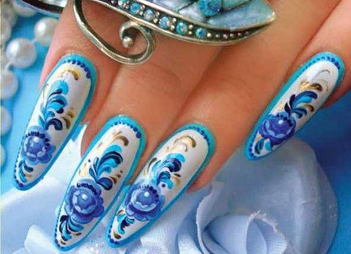 Изящные пальчики: как сделать красивую форму ногтей 35