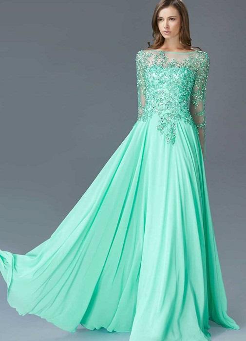 Платья цвета тиффани фото