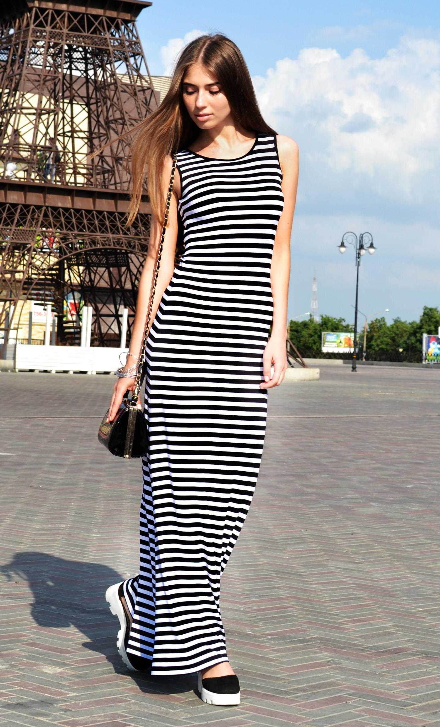 Майка платье с кедами