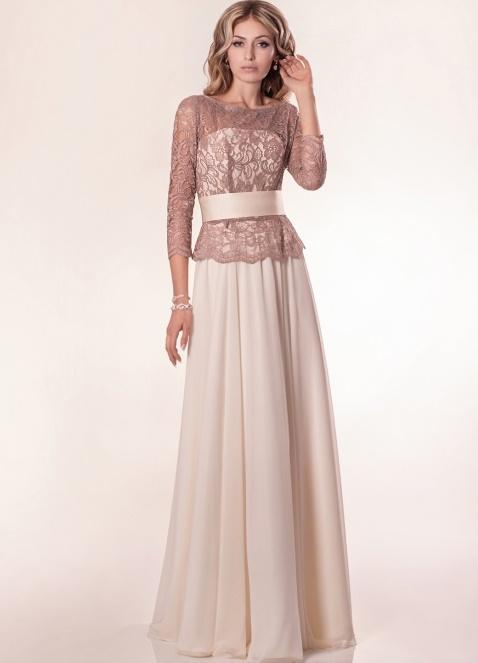 Платья с гипюровыми верхом
