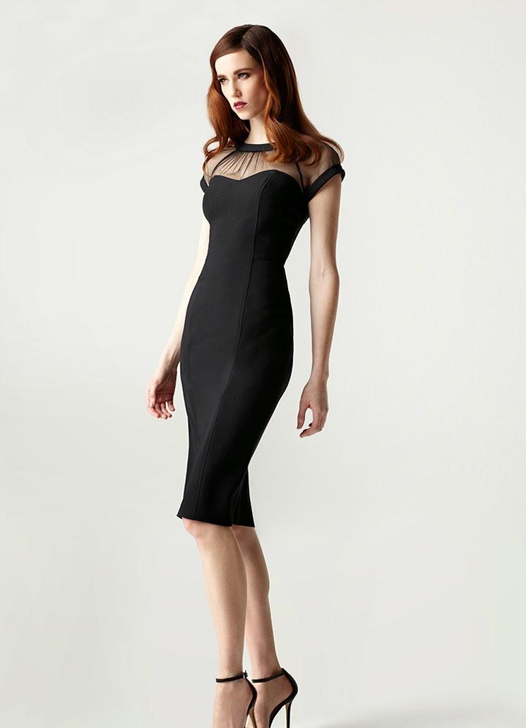 Платье с сеточкой сверху