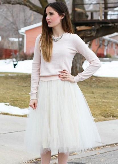 Платья с фатиновой юбкой длинные