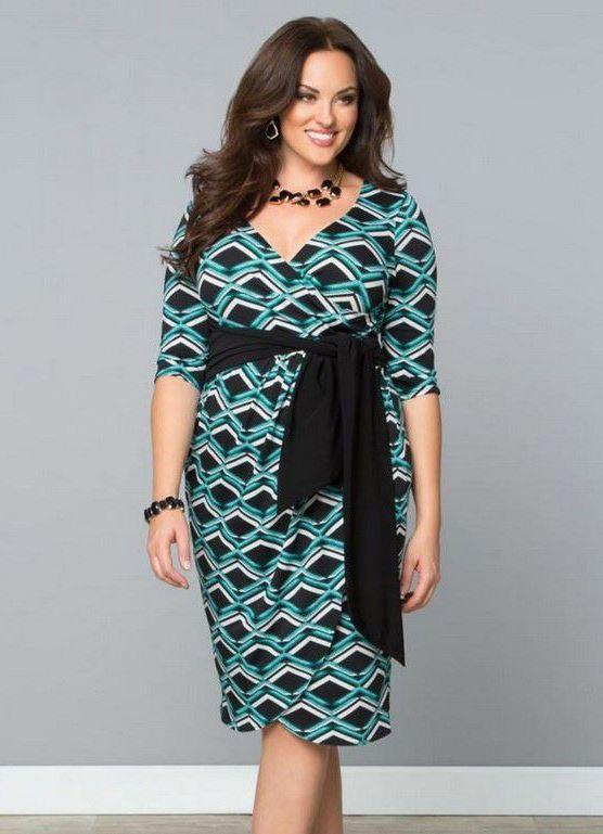 Стильное платье 45лет