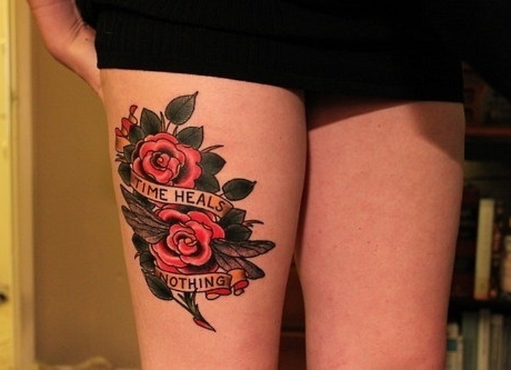 Эскизы для тату цветы на ногу эскизы