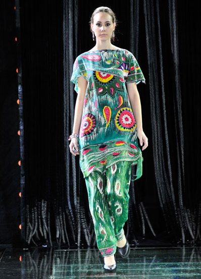 Национальное узбекское платье фото