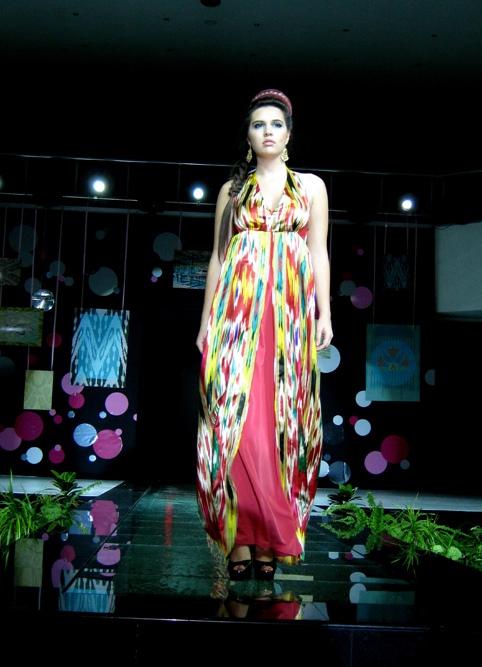 Узбекские красивые платья