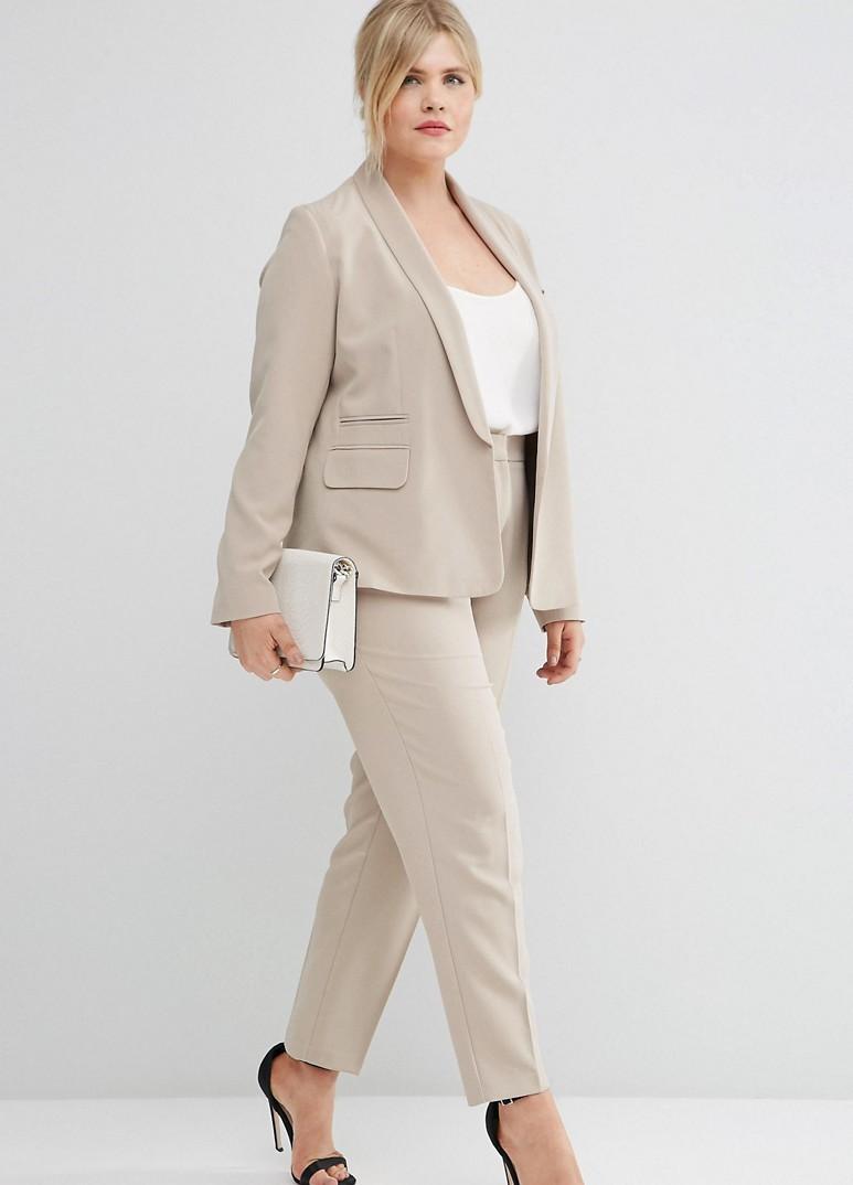костюм для полных женщин фото