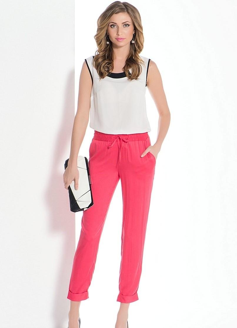 Летние брюки женские фото