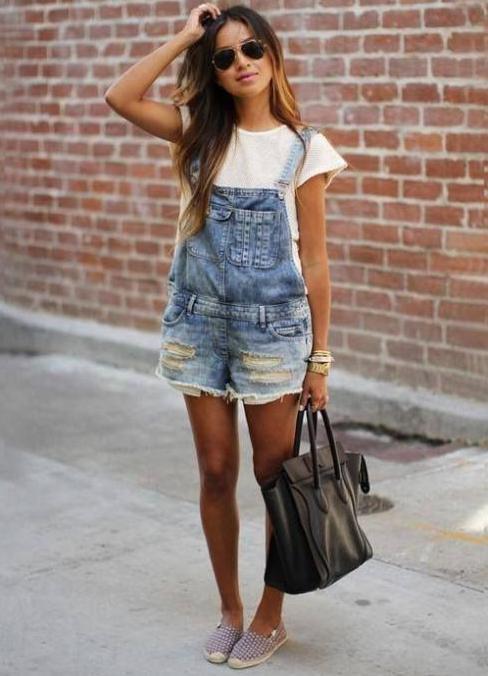 комбинезон шорты фото женский