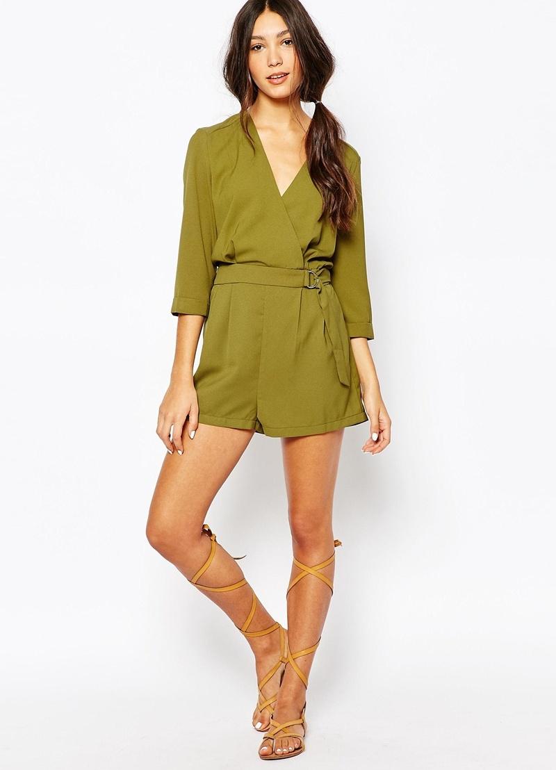 комбинезон-шорты женский фото