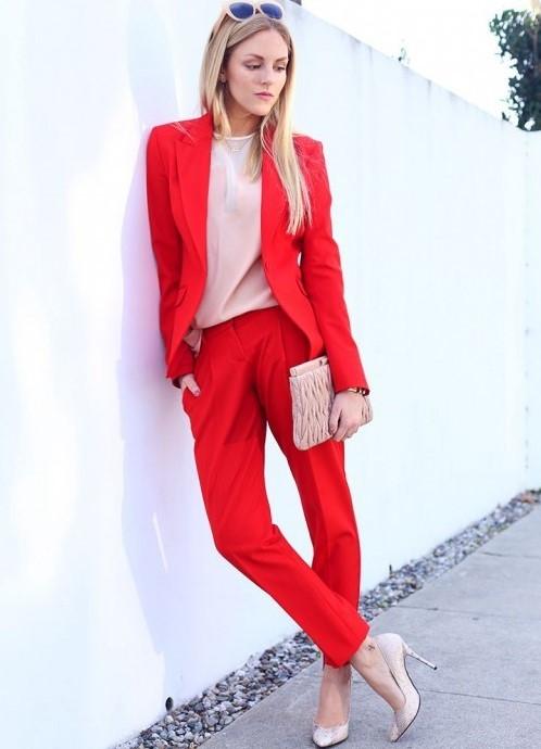 Модный брючный костюм женский 2017 с доставкой