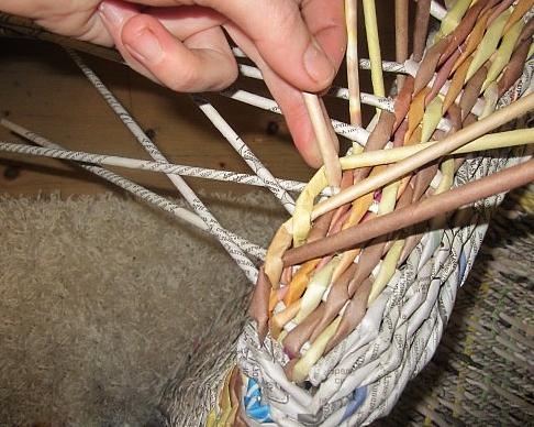 23. Плетеная мебель своими руками