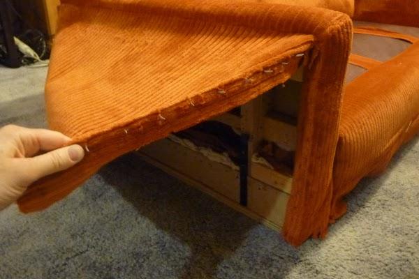 Перетяжка мебели своими руками на дому - это просто 26