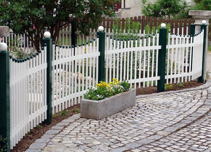 Дачный забор садовый забор своими руками - Septikblog.ru