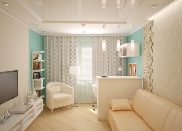 Комната в хрущёвке дизайн фото