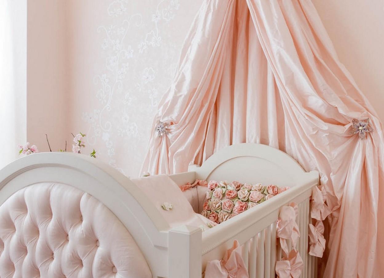 Самому сделать балдахин над детской кроватью своими руками