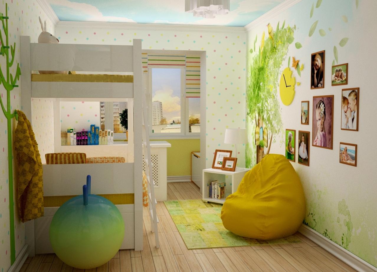 Комнаты с балконом для мальчика дизайн