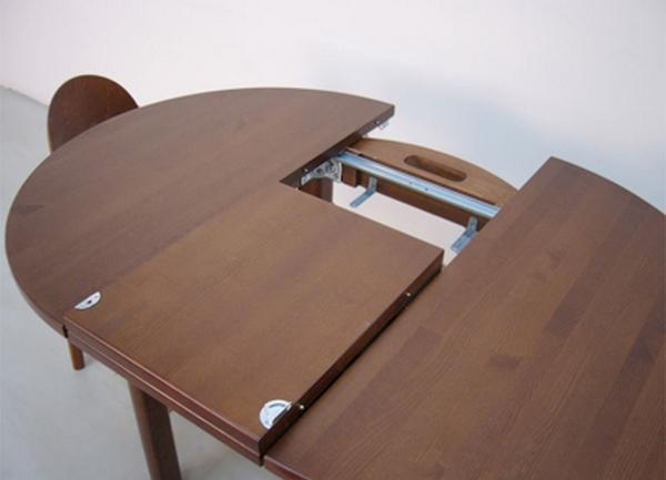 Как сделать раскладной обеденный стол своими руками