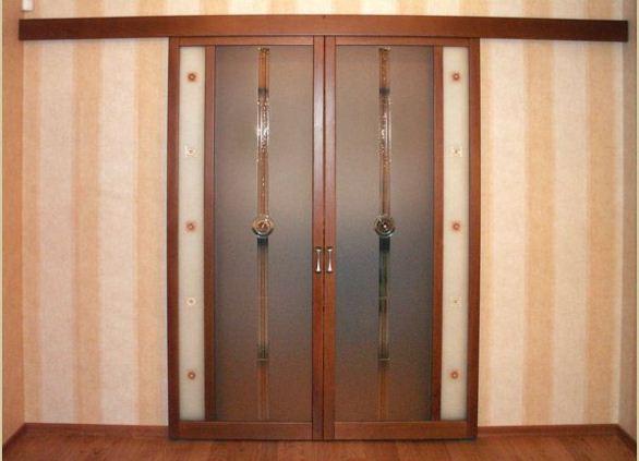 Сдвижная дверь в комнату своими руками