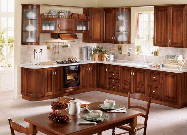 Кухни фото дизайн деревянные