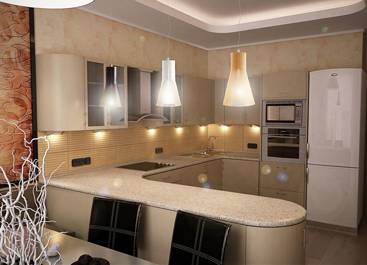 Дизайны кухни современные