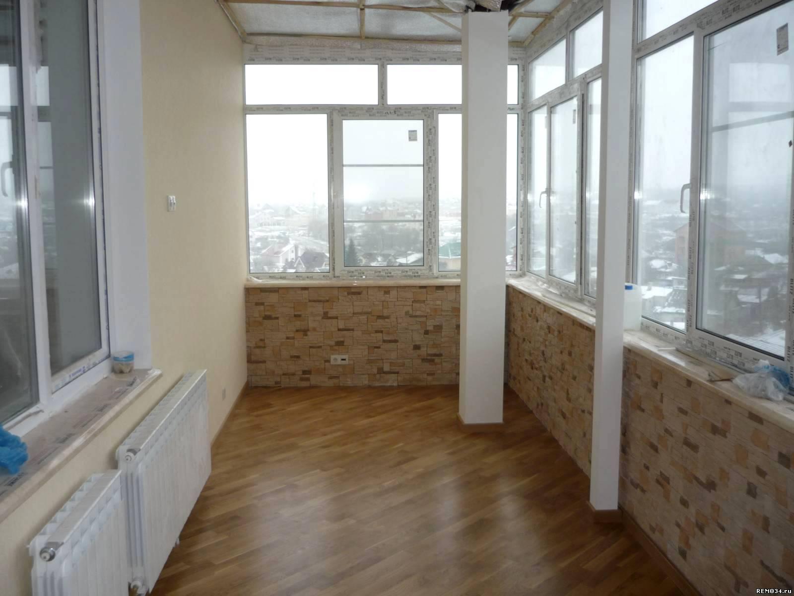 Стены на балконе - фото лучших идей оформления красивых стен.