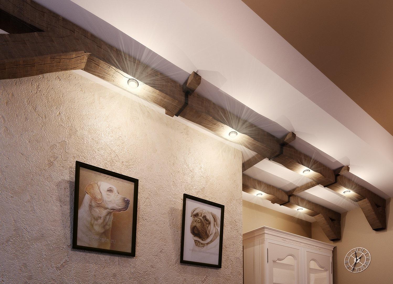 Дизайн потолочной балки