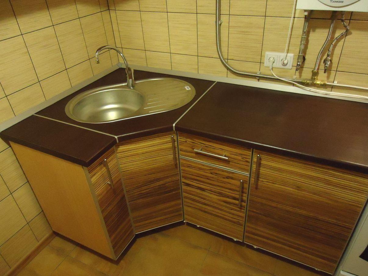 Угловая тумба мойка для кухни своими руками
