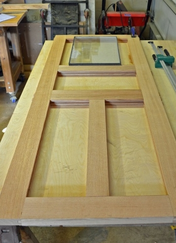 Как сделать деревянная дверь самостоятельно