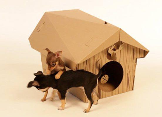 Как сделать собаку из картона