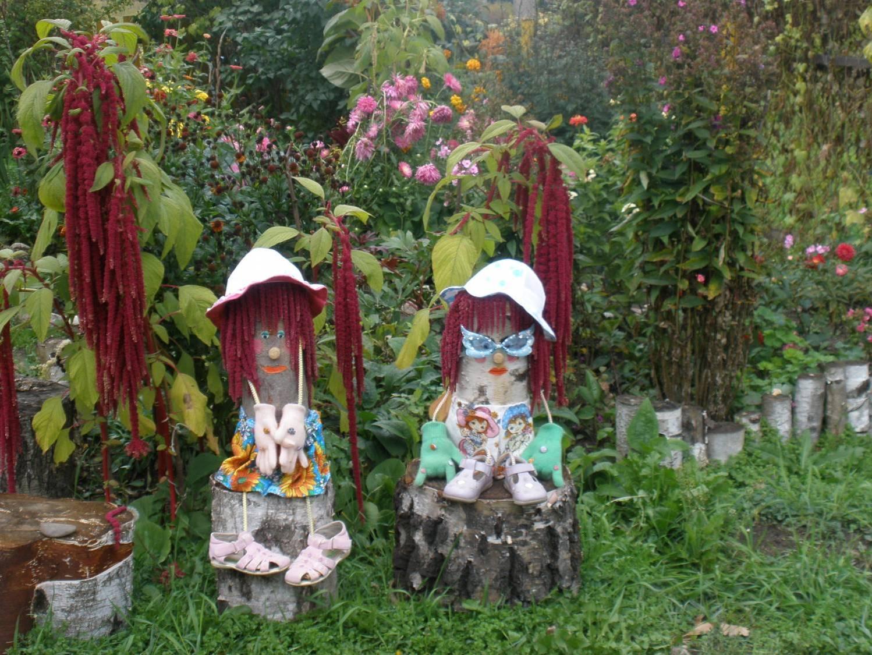 Садовая поделки своими руками фото