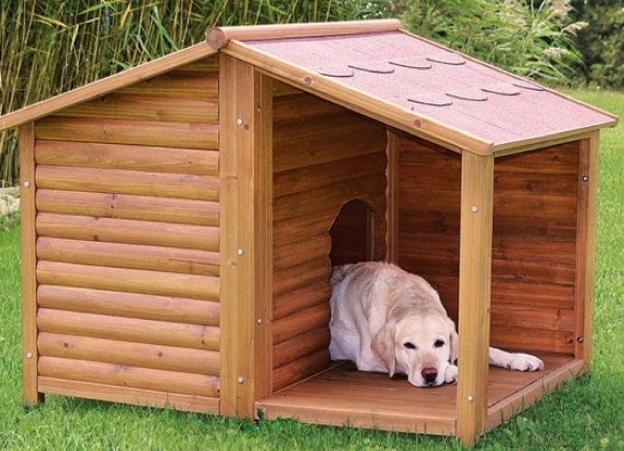 Фото будка для собаки чертежи фото из дерево сделай своими руками