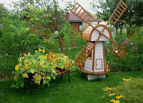 Декор для садового участка