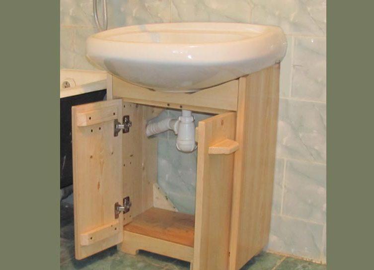 Шкафчик для раковины своими руками