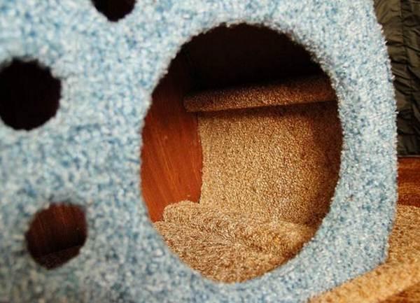 Песок для котов своими руками