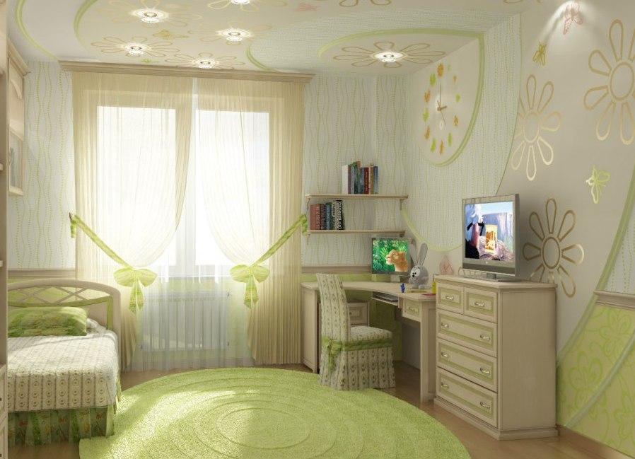 Дизайн спальни подростковой