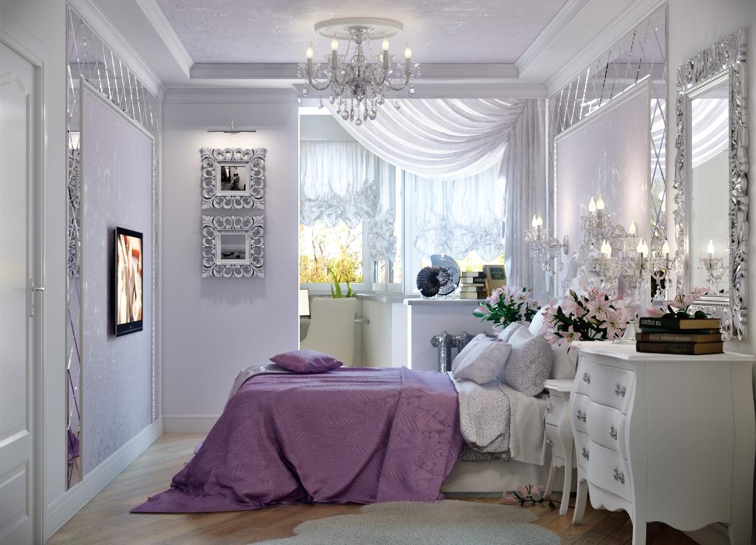 Планировка спален с балконом. - дизайнерские решения - катал.